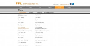 FPL Clients Webpage