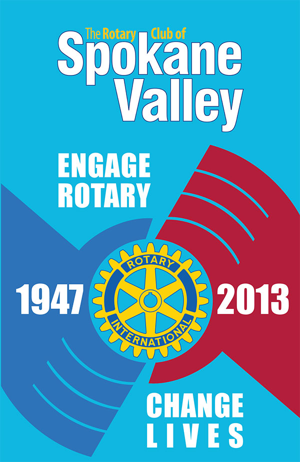 Spokane Valley Rotary Installation Banquet Program Cover