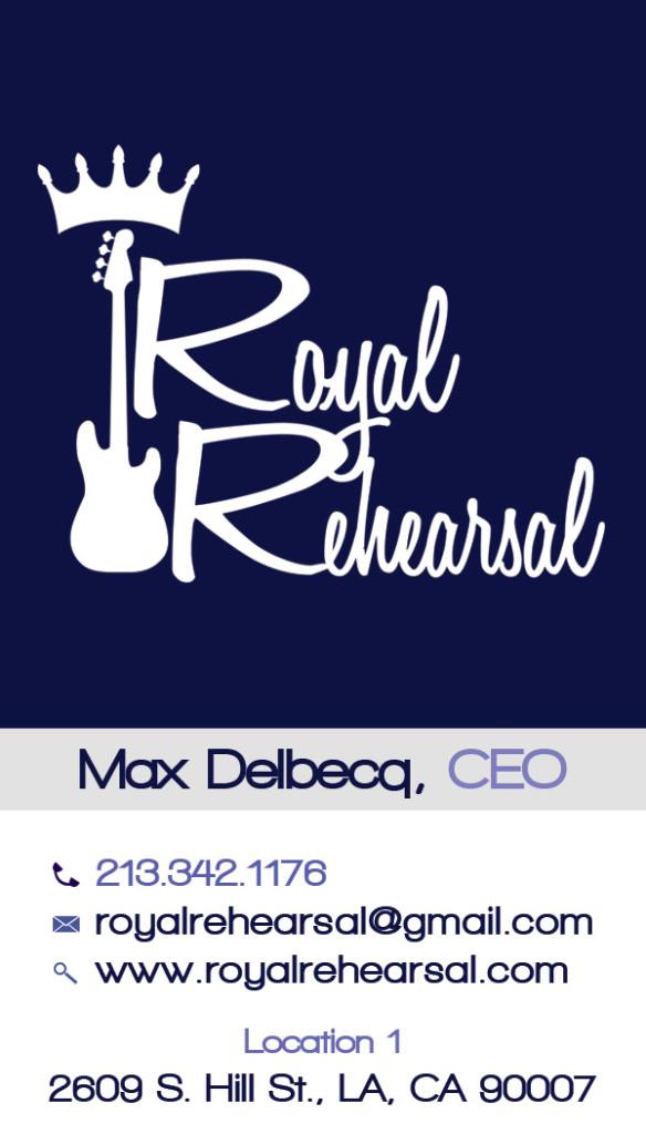 max royal rehearsal