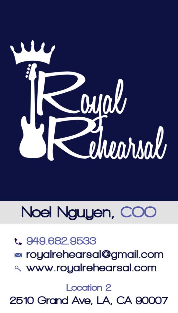 noel royal rehearsal